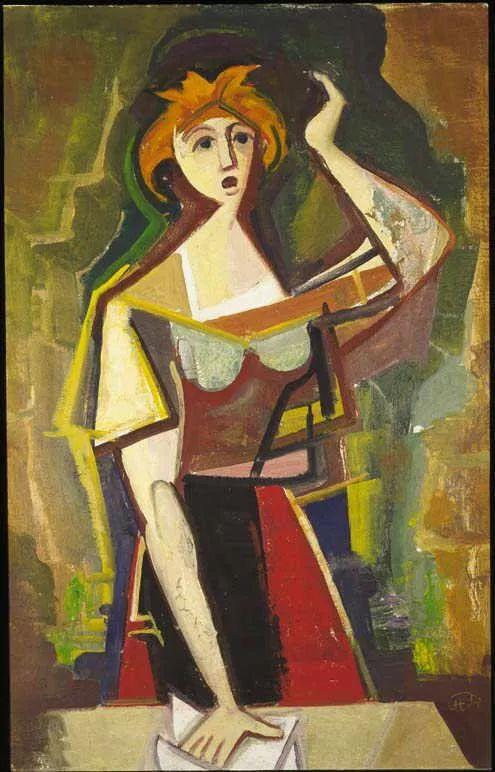 表现主义 德国卡尔·霍费尔(1878-1955)作品二插图33