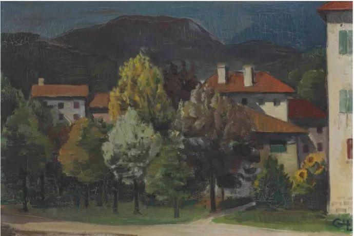 表现主义 德国卡尔·霍费尔(1878-1955)作品二插图37