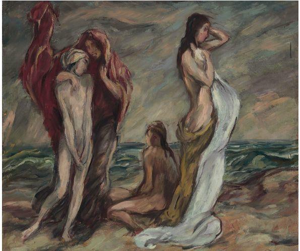 表现主义 德国卡尔·霍费尔(1878-1955)作品二插图39