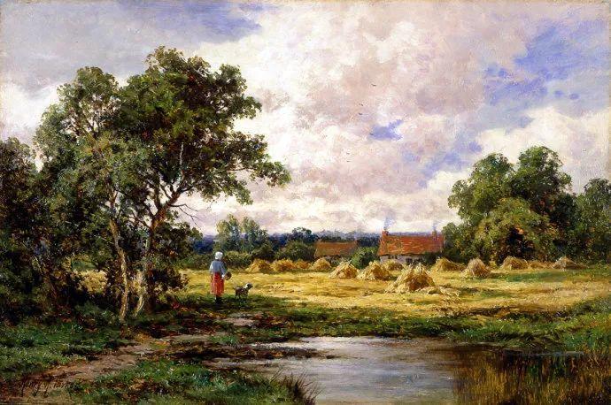 风景油画欣赏 英国画家亨利·帕克(1858-1930)插图5