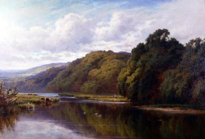 风景油画欣赏 英国画家亨利·帕克(1858-1930)插图7