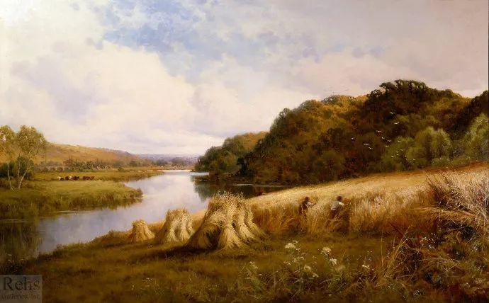 风景油画欣赏 英国画家亨利·帕克(1858-1930)插图13