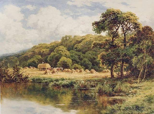 风景油画欣赏 英国画家亨利·帕克(1858-1930)插图27