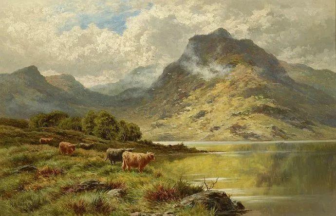 风景油画欣赏 英国画家亨利·帕克(1858-1930)插图29