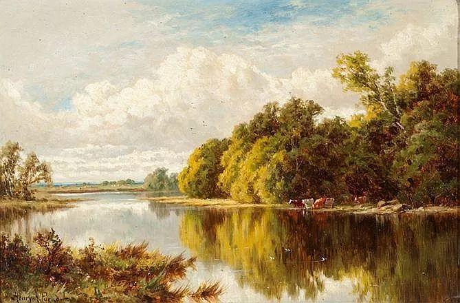 风景油画欣赏 英国画家亨利·帕克(1858-1930)插图31