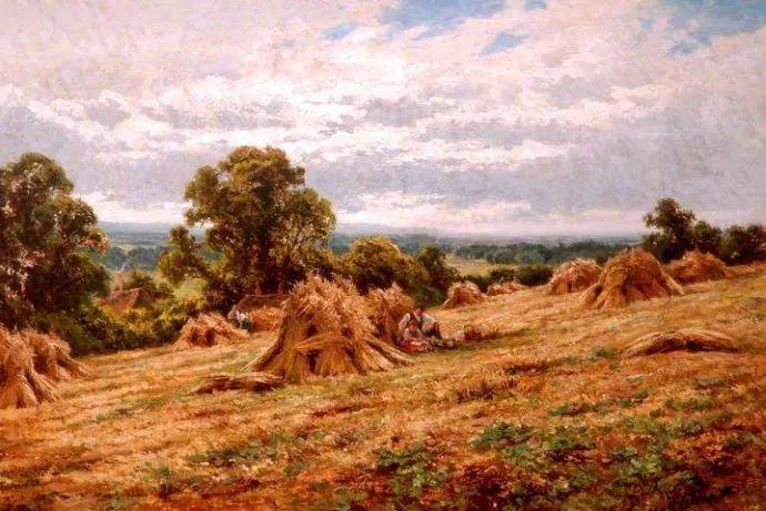 风景油画欣赏 英国画家亨利·帕克(1858-1930)插图37