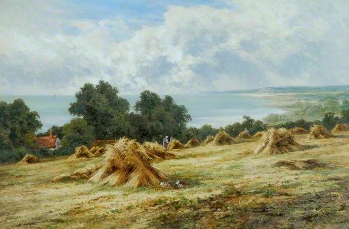 风景油画欣赏 英国画家亨利·帕克(1858-1930)插图39