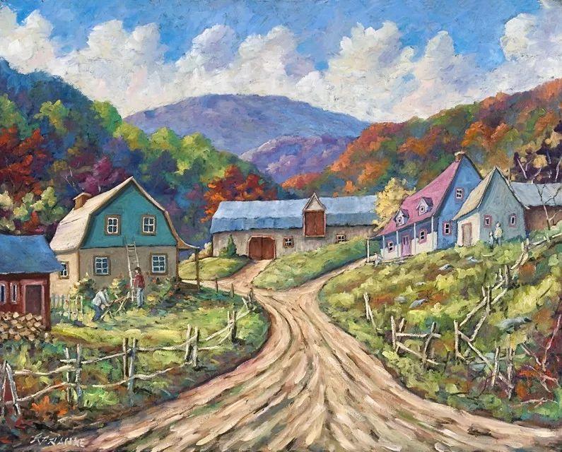 风景油画 Richard T Pranke作品插图1