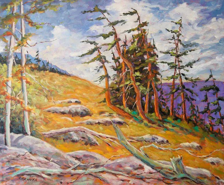风景油画 Richard T Pranke作品插图5
