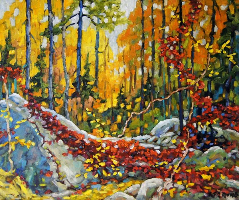风景油画 Richard T Pranke作品插图7