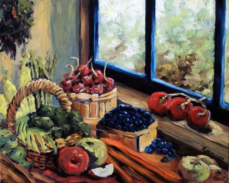 风景油画 Richard T Pranke作品插图9