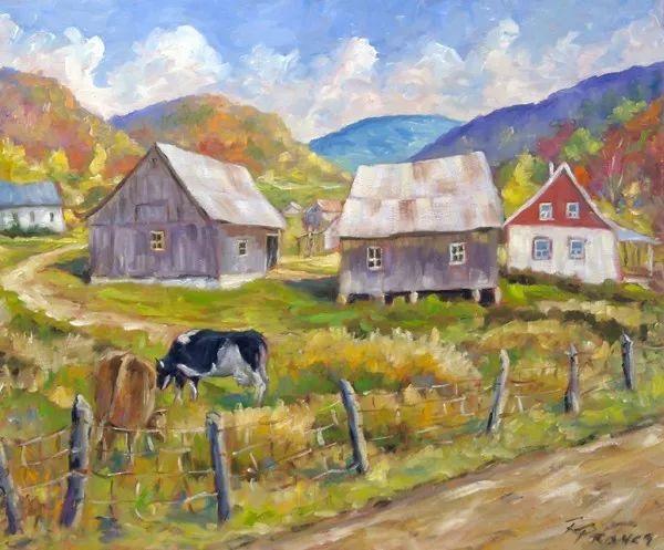 风景油画 Richard T Pranke作品插图15