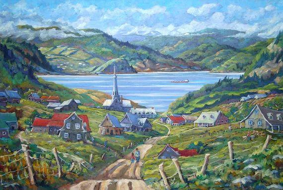 风景油画 Richard T Pranke作品插图27