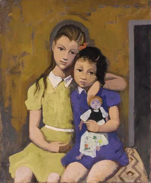 表现主义 德国画家Karl Hofer(1878-1955)插图1