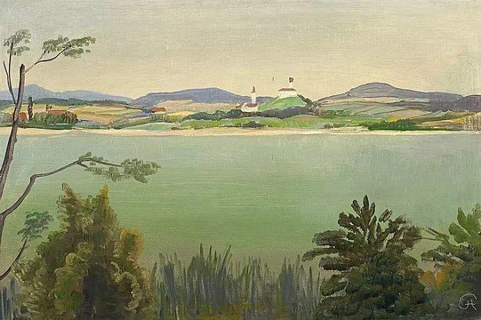 表现主义 德国画家Karl Hofer(1878-1955)插图3
