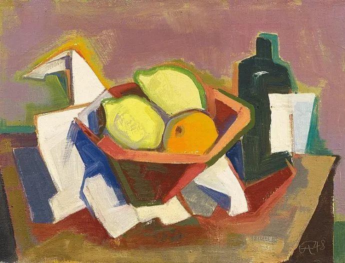表现主义 德国画家Karl Hofer(1878-1955)插图5