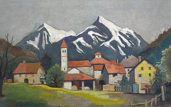 表现主义 德国画家Karl Hofer(1878-1955)插图7