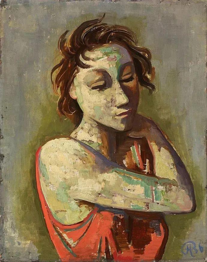 表现主义 德国画家Karl Hofer(1878-1955)插图9