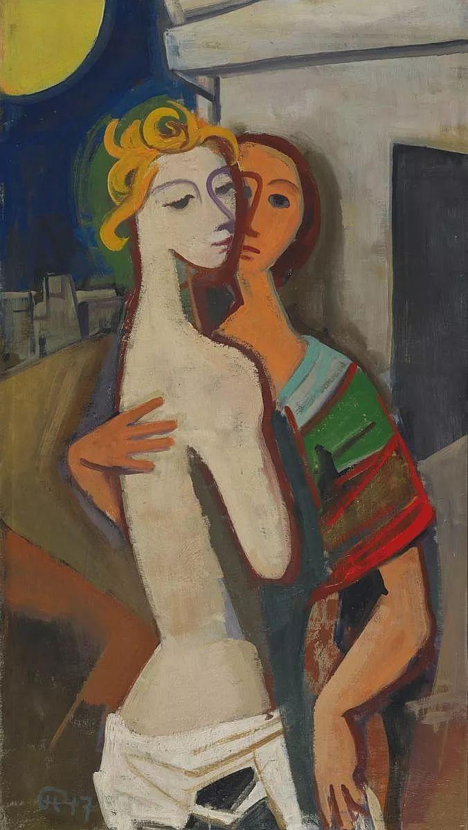 表现主义 德国画家Karl Hofer(1878-1955)插图11