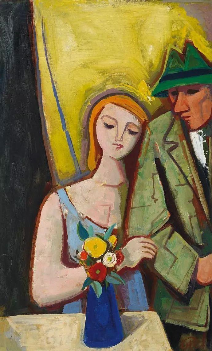 表现主义 德国画家Karl Hofer(1878-1955)插图13