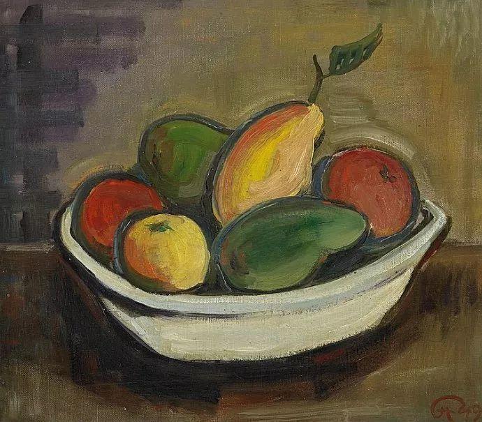 表现主义 德国画家Karl Hofer(1878-1955)插图15