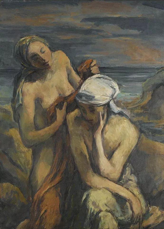 表现主义 德国画家Karl Hofer(1878-1955)插图17