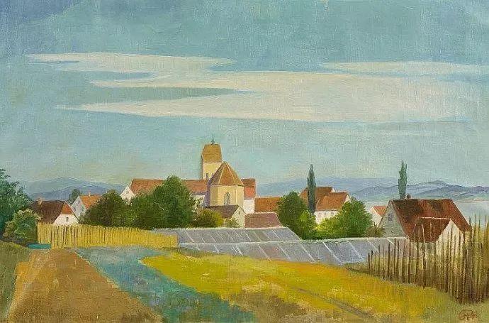 表现主义 德国画家Karl Hofer(1878-1955)插图19