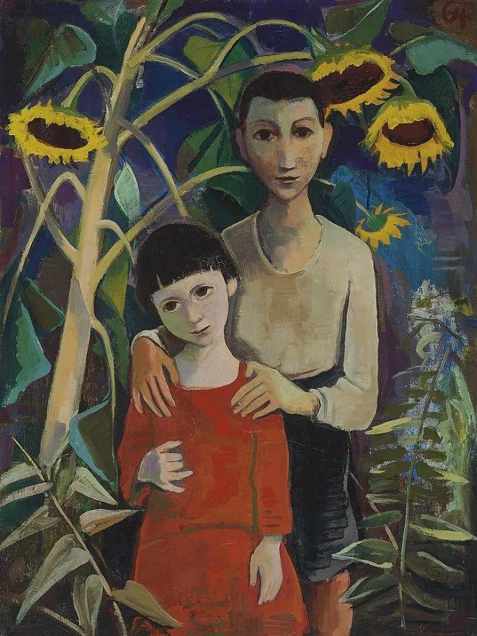 表现主义 德国画家Karl Hofer(1878-1955)插图23