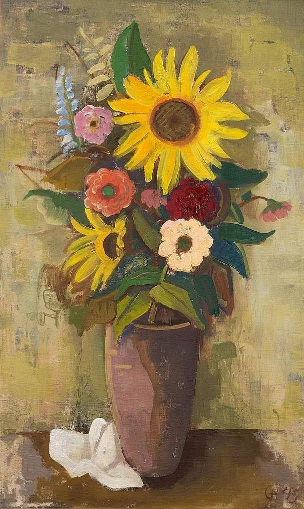 表现主义 德国画家Karl Hofer(1878-1955)插图25