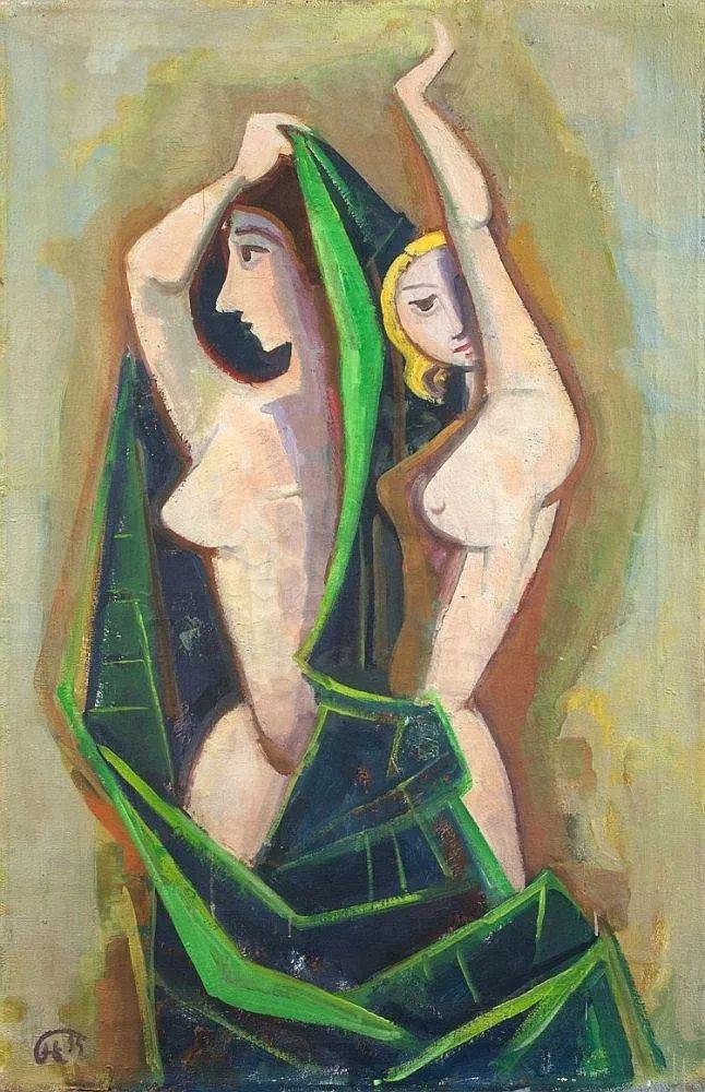 表现主义 德国画家Karl Hofer(1878-1955)插图27