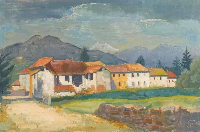 表现主义 德国画家Karl Hofer(1878-1955)插图29