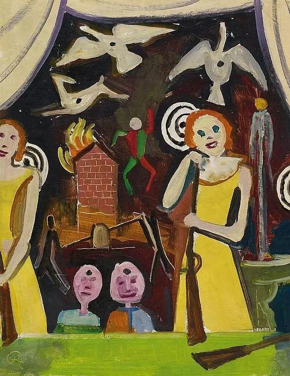 表现主义 德国画家Karl Hofer(1878-1955)插图31