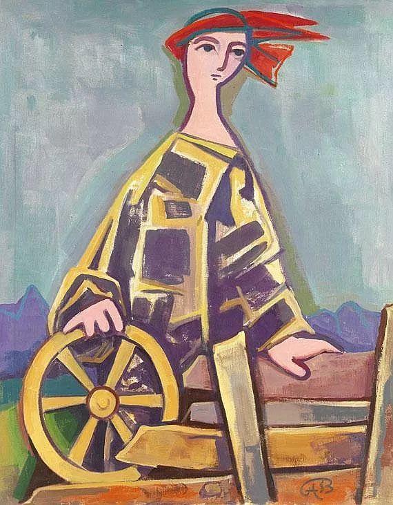 表现主义 德国画家Karl Hofer(1878-1955)插图33