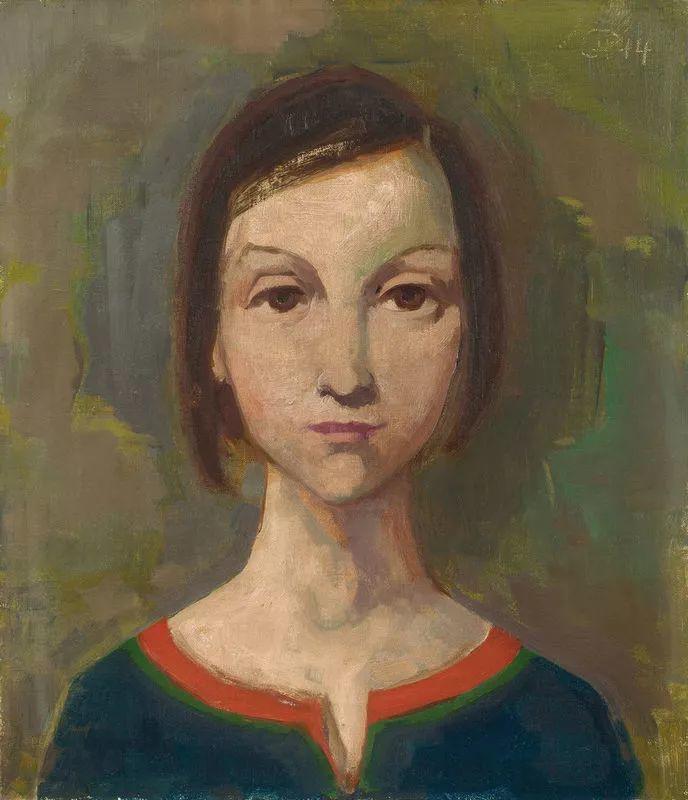 表现主义 德国画家Karl Hofer(1878-1955)插图43