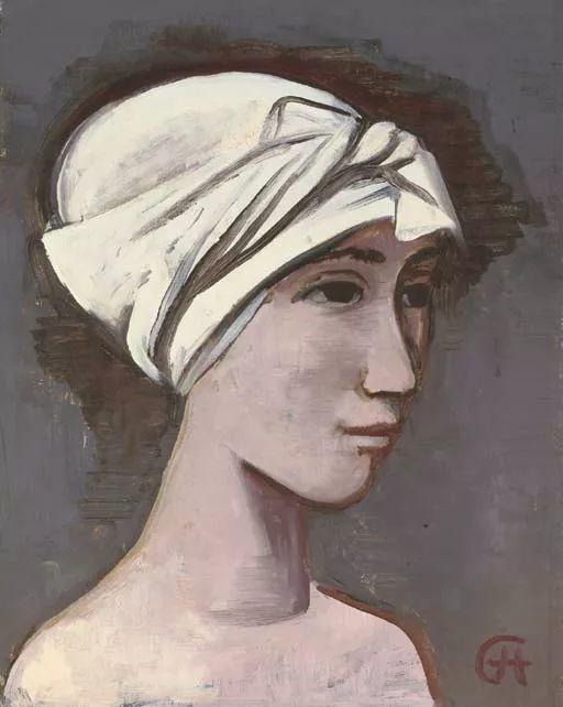 表现主义 德国画家Karl Hofer(1878-1955)插图45