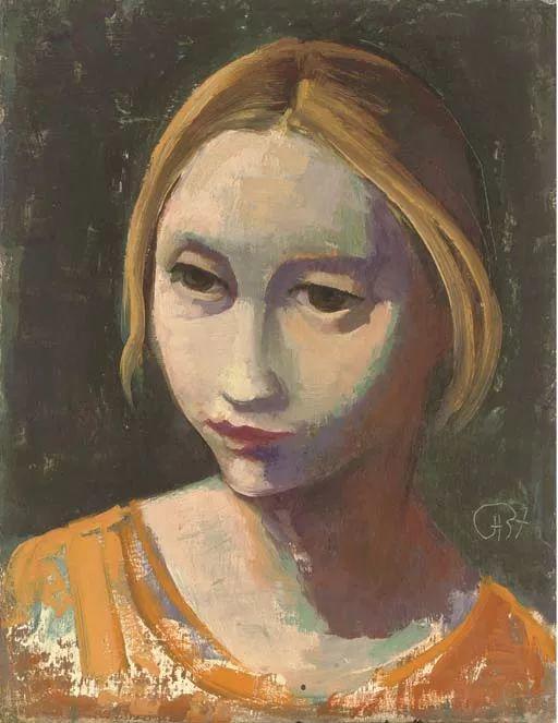 表现主义 德国画家Karl Hofer(1878-1955)插图47