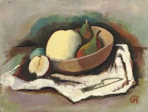 表现主义 德国画家Karl Hofer(1878-1955)插图49