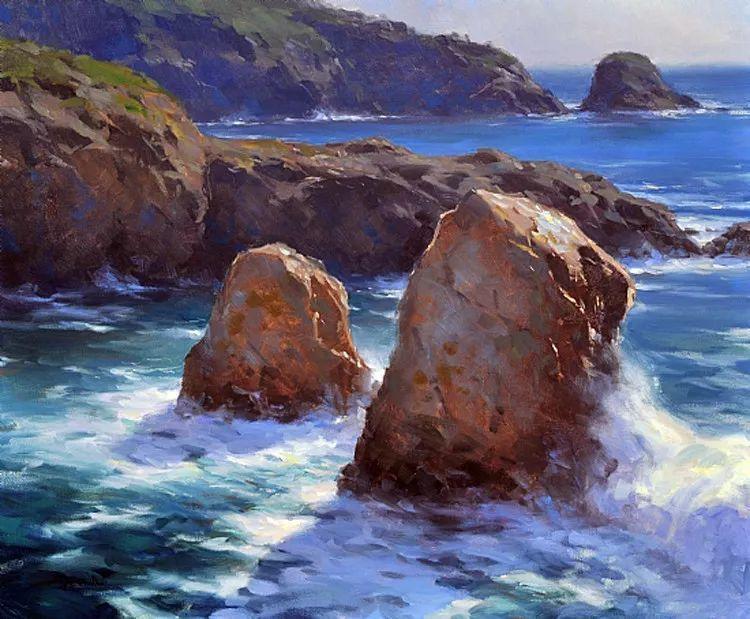 风景油画欣赏 美国Jesse Powell作品插图3