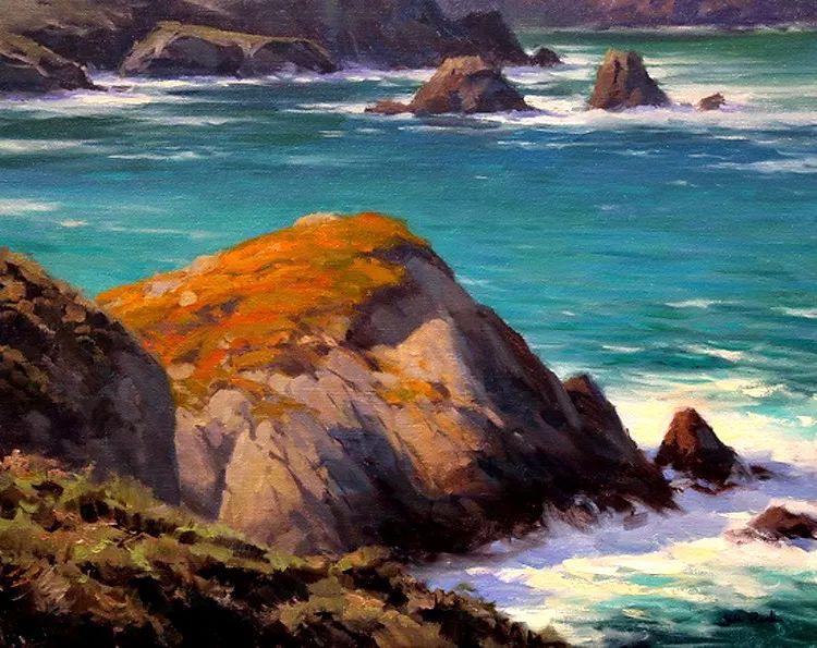 风景油画欣赏 美国Jesse Powell作品插图5
