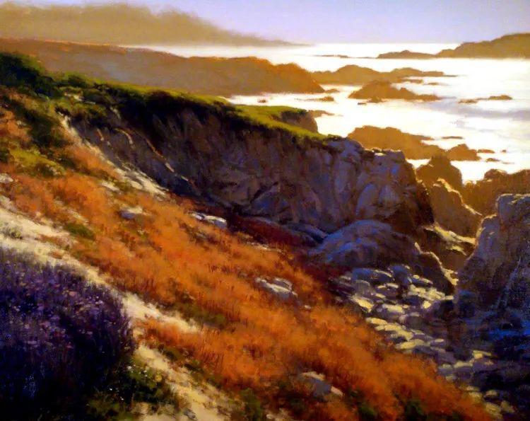 风景油画欣赏 美国Jesse Powell作品插图9
