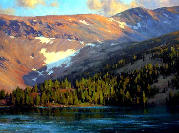 风景油画欣赏 美国Jesse Powell作品插图15