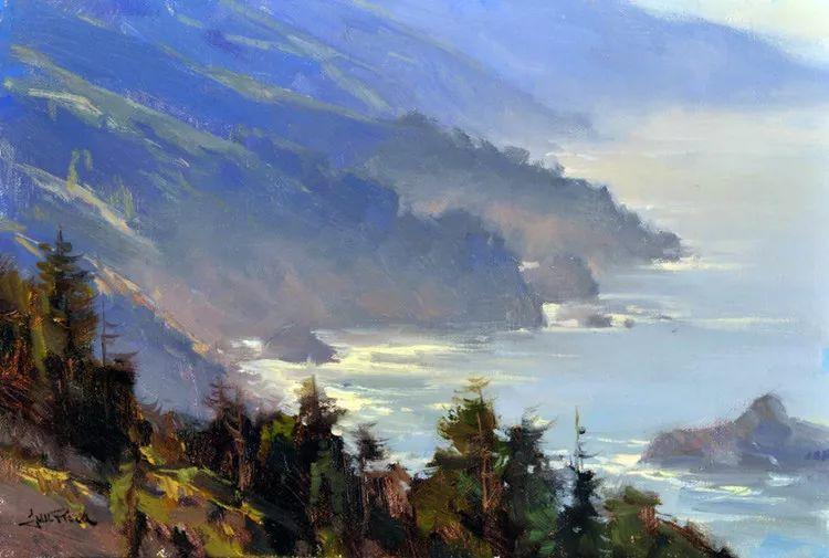 风景油画欣赏 美国Jesse Powell作品插图17