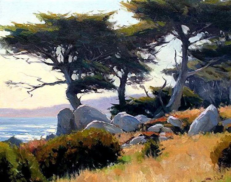 风景油画欣赏 美国Jesse Powell作品插图21