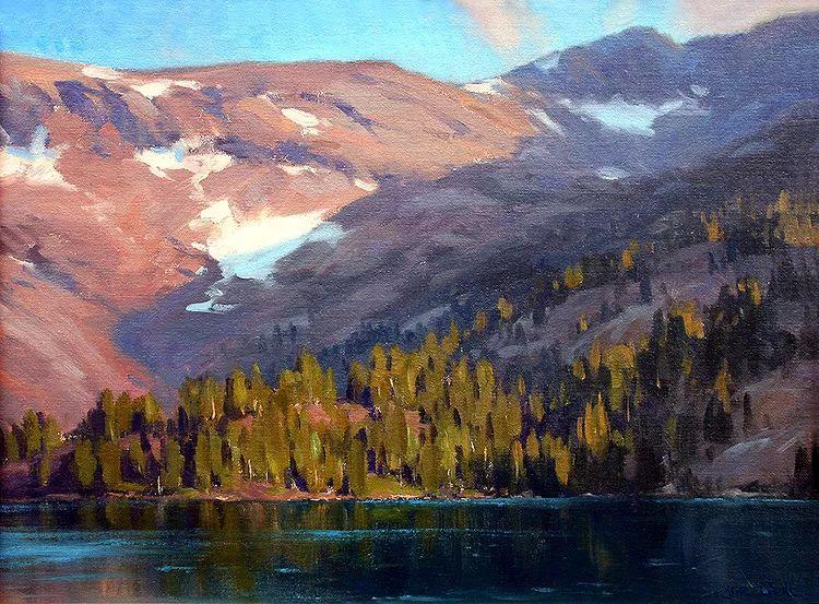 风景油画欣赏 美国Jesse Powell作品插图31
