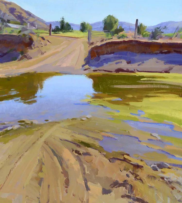 风景油画欣赏 美国Jesse Powell作品插图33