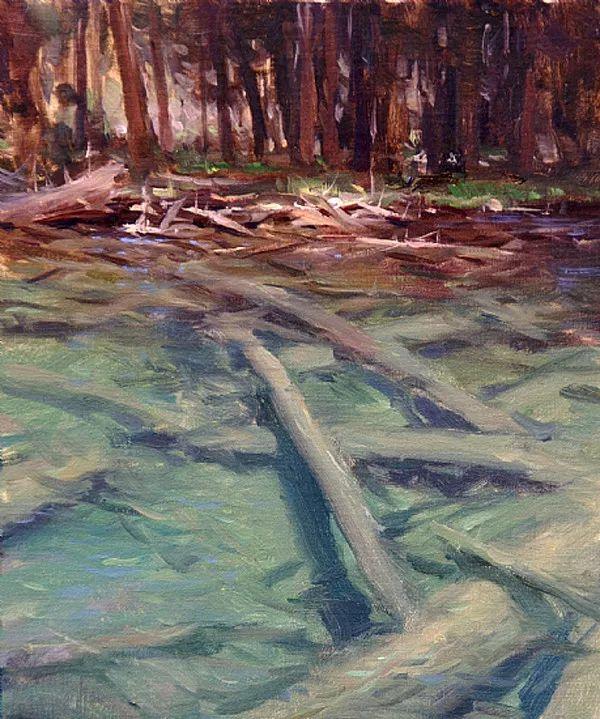 风景油画欣赏 美国Jesse Powell作品插图45