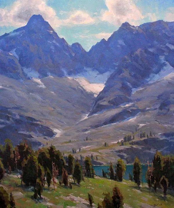 风景油画欣赏 美国Jesse Powell作品插图49