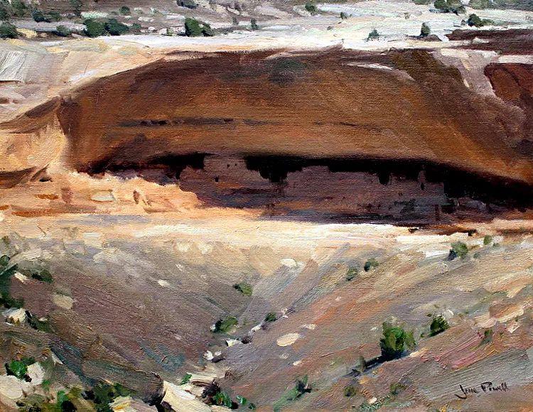 风景油画欣赏 美国Jesse Powell作品插图51