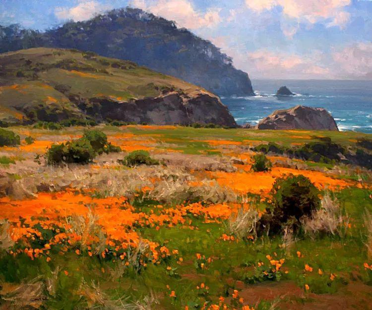 风景油画欣赏 美国Jesse Powell作品插图63
