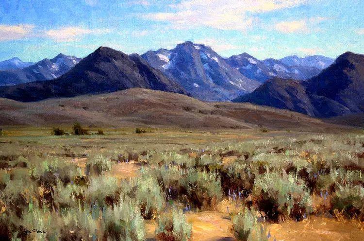 风景油画欣赏 美国Jesse Powell作品插图65